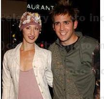 Eric Szmanda with his former partner Lauren Bradley