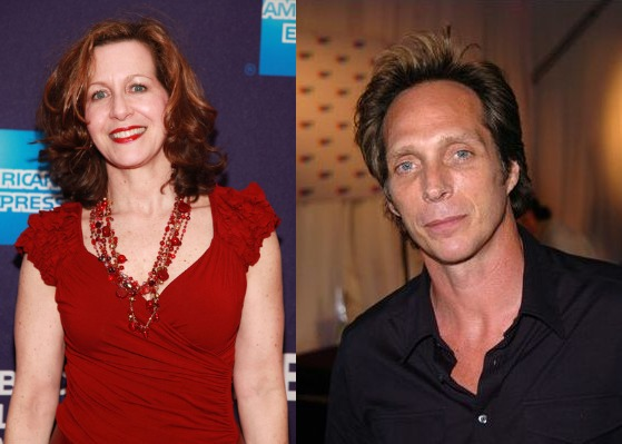 William Fichtner and his ex-wife Betsy Aidem