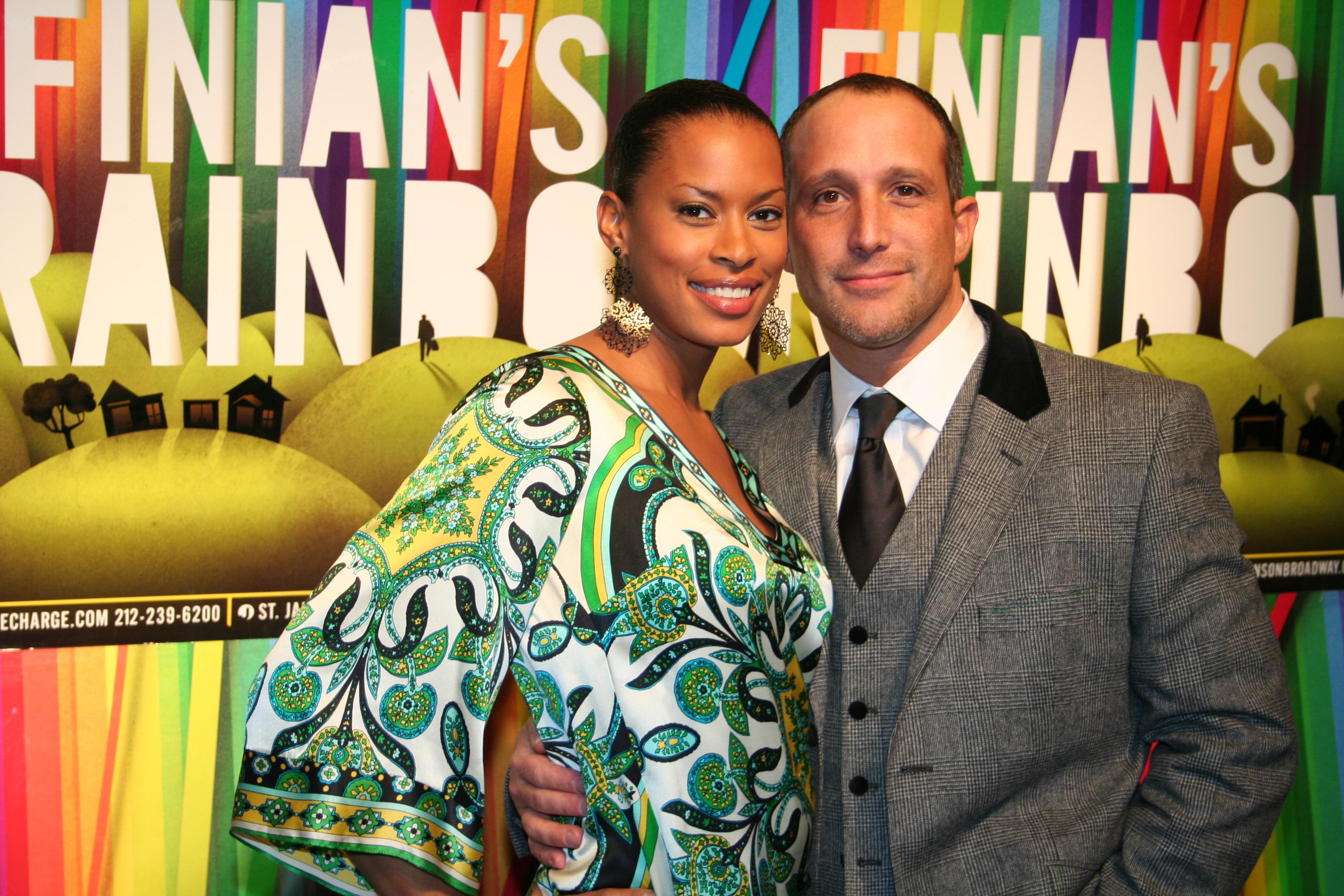 Kearran Giovanni with her spouse Philip Ambrosino