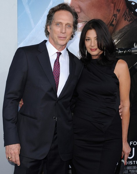 Kymberly Kalil with her spouse William Fichtner
