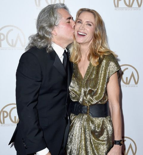 Mitch Glazer married Wendie Mallick in the past