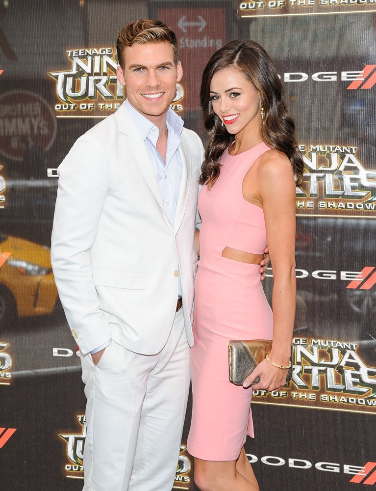'Teenage Mutant Ninja Turtles: Out of the Shadows' World Premiere at Madison Square Garden Featuring: Pete Ploszek, Daniela Ploszeck Where: New York, New York, United States When: 23 May 2016 Credit: C.Smith/WENN.com