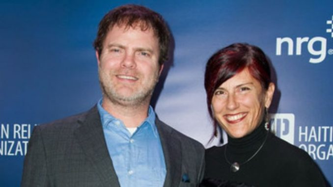 Holiday Reinhorn and her boyfriend turned husband Rainn Wilson married in 1995 and became the parents of a son in 2004.