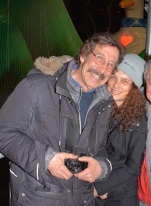 Rick Smolan with his spouse Jennifer Erwitt