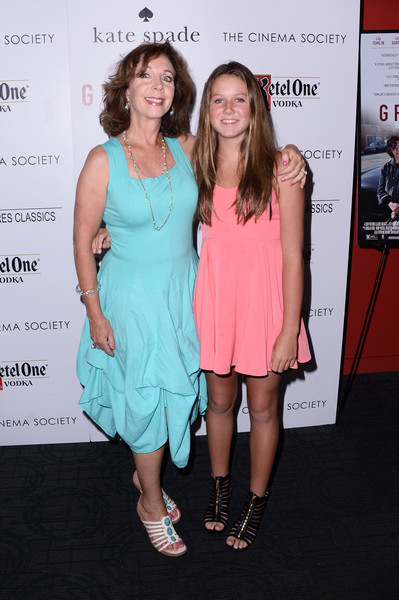 Rita Rudner with her child Molly Bergman