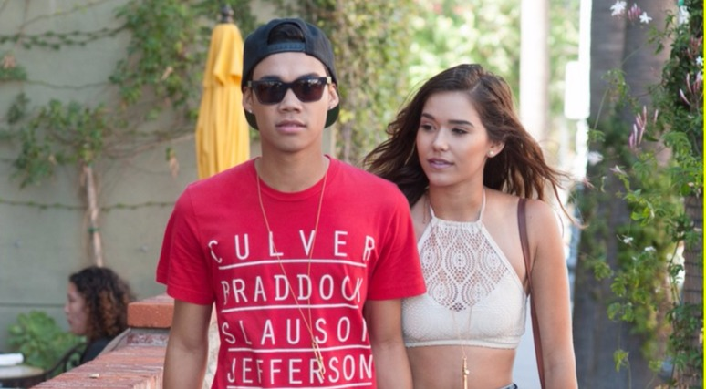 Roshon Fegan with his ex-lover Camia Marie