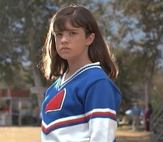 Shawna Waldron acting in Little Giants.