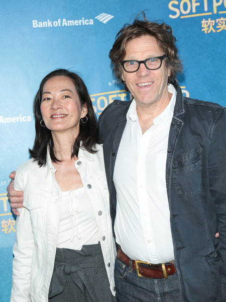 Simon templeman with his parnter Rosalind Chao