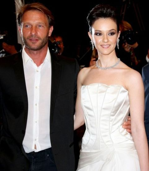 Marta Gastini was rumored dating the actor Thomas Kretchmann.