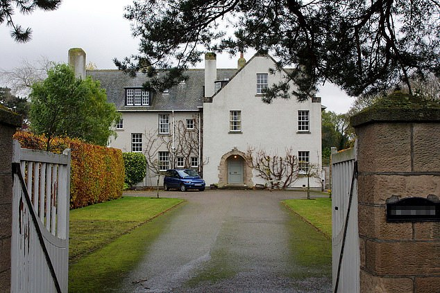 Tilda Swinton's 113 years old residence in Scotland