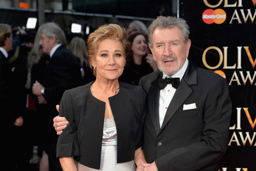 Zoe Wanamaker with her spouse Gawn Grainger