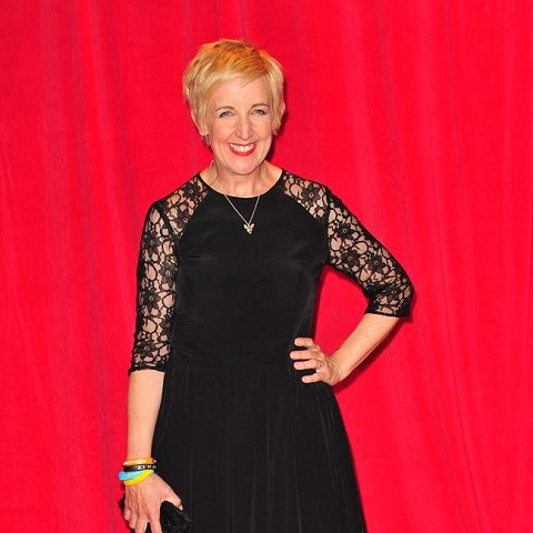 Julie Hesmondhalgh's other TV roles include Cucumber, Happy Vally.