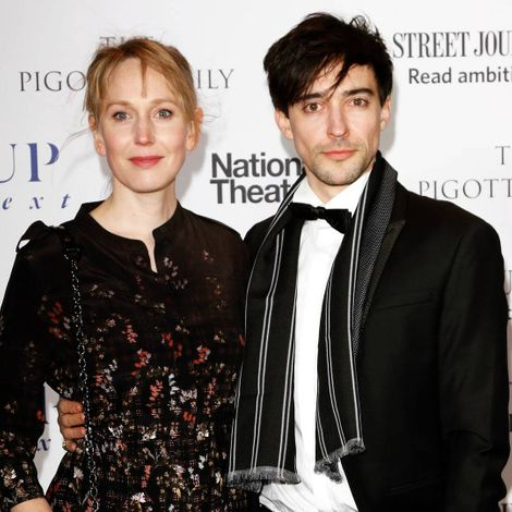 Blake Ritson and prospective spouse Hattie Morahan