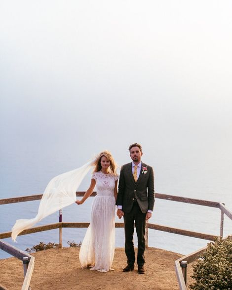 Lindsay Pulsipher with her spouse Logan Donovan