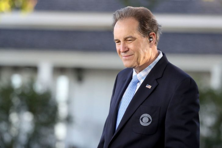 after his divorce with first wife, Jim Nantz married his second wife Courtney Richards in 2012.