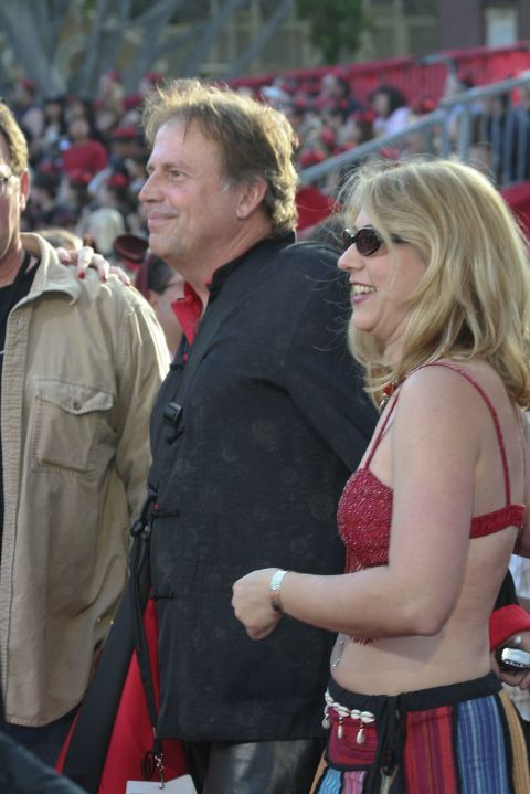 Terry Rossio is married to his wife Terry Rossio.