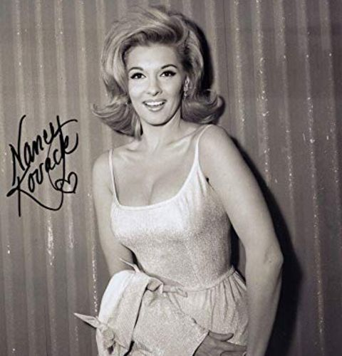 Nancy Kovac appeared on a number of TV series including Star Trek Bewitched