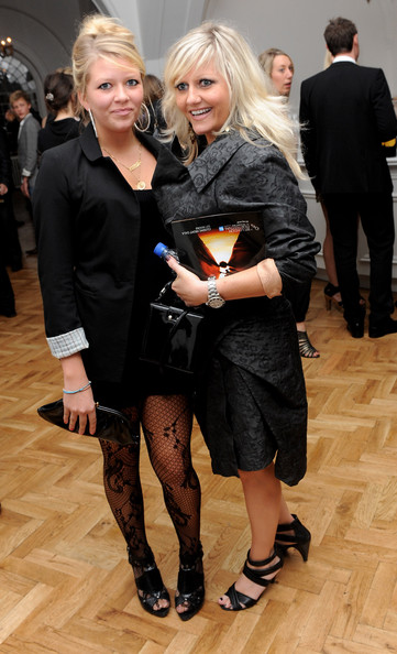 `Camille Coduri and her child Rosa Coduri