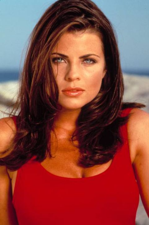Yasmine Bleeth made her acting debut in 1983.