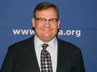 Andy Richter is an American actor, voice actor, writer, comedian, and late night talk show announcer. He is best known for his role as the sidekick of Conan O'Brien on each of the host's programs: Late Night, The Tonight Show on NBC and Conan on TBS. He is also known for his work as the voice of Mort in the Madagascar franchise.