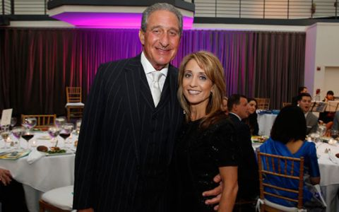 Angela Macuga is married to billionaire husband Arthur Blank