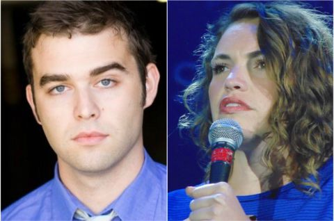 Cale Hartmann has been accused of abuse by Beth Stelling.