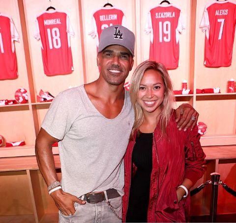 Shemar Moore and Shawna Gordon were dating in the past