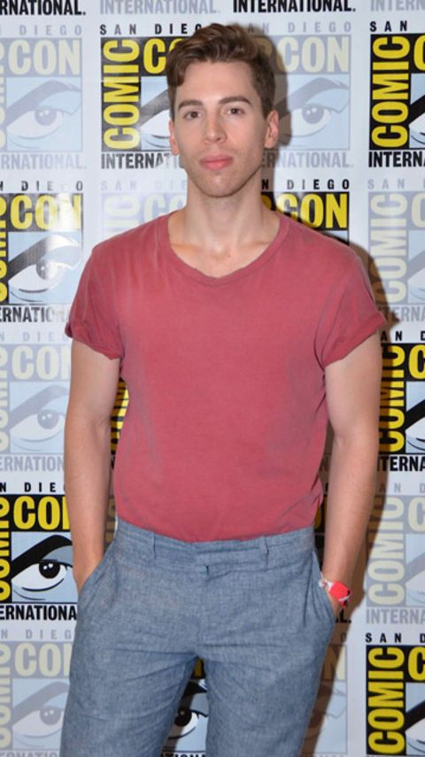 Jordan Gavaris is an actor.