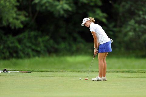 Daughter of Ivan Lendl, Isabelle Lendl is an amateur golf player