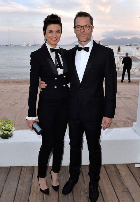 Kate Mestitz with Guy Pearce