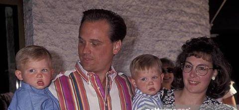 Adam Robert Worton and his twin brother Joseph Jacob Worton and their parents