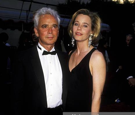 Bernard Sofronski and his spouse Susan Dey