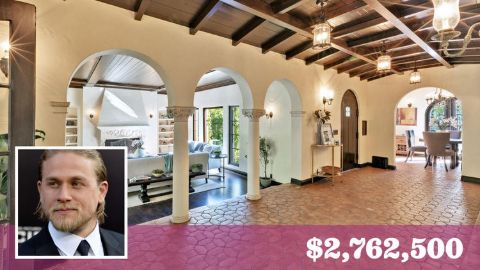 Charlie Hunnam's mansion is worth $2,762,500