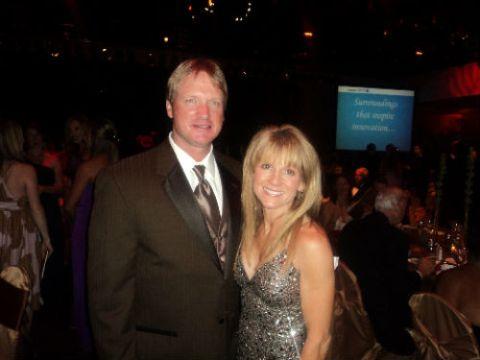 Cindy Brooke married Jon Gruden in 1991
