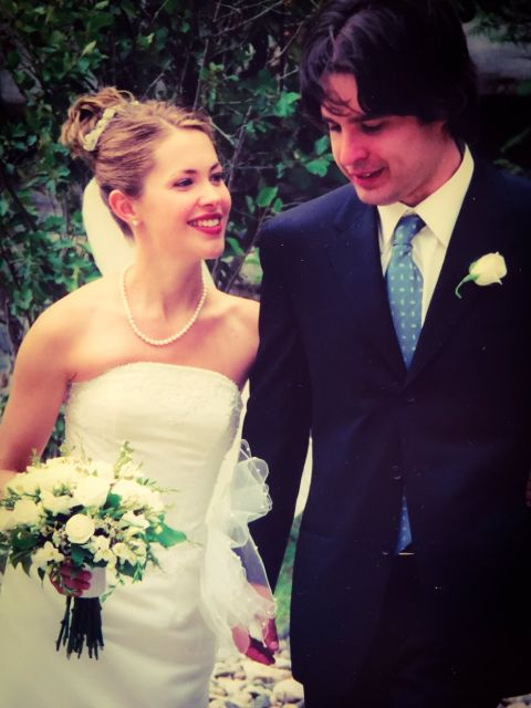 Danny Dorosh tied the knot with the Canadian actress,Pascale Hutton in2002.