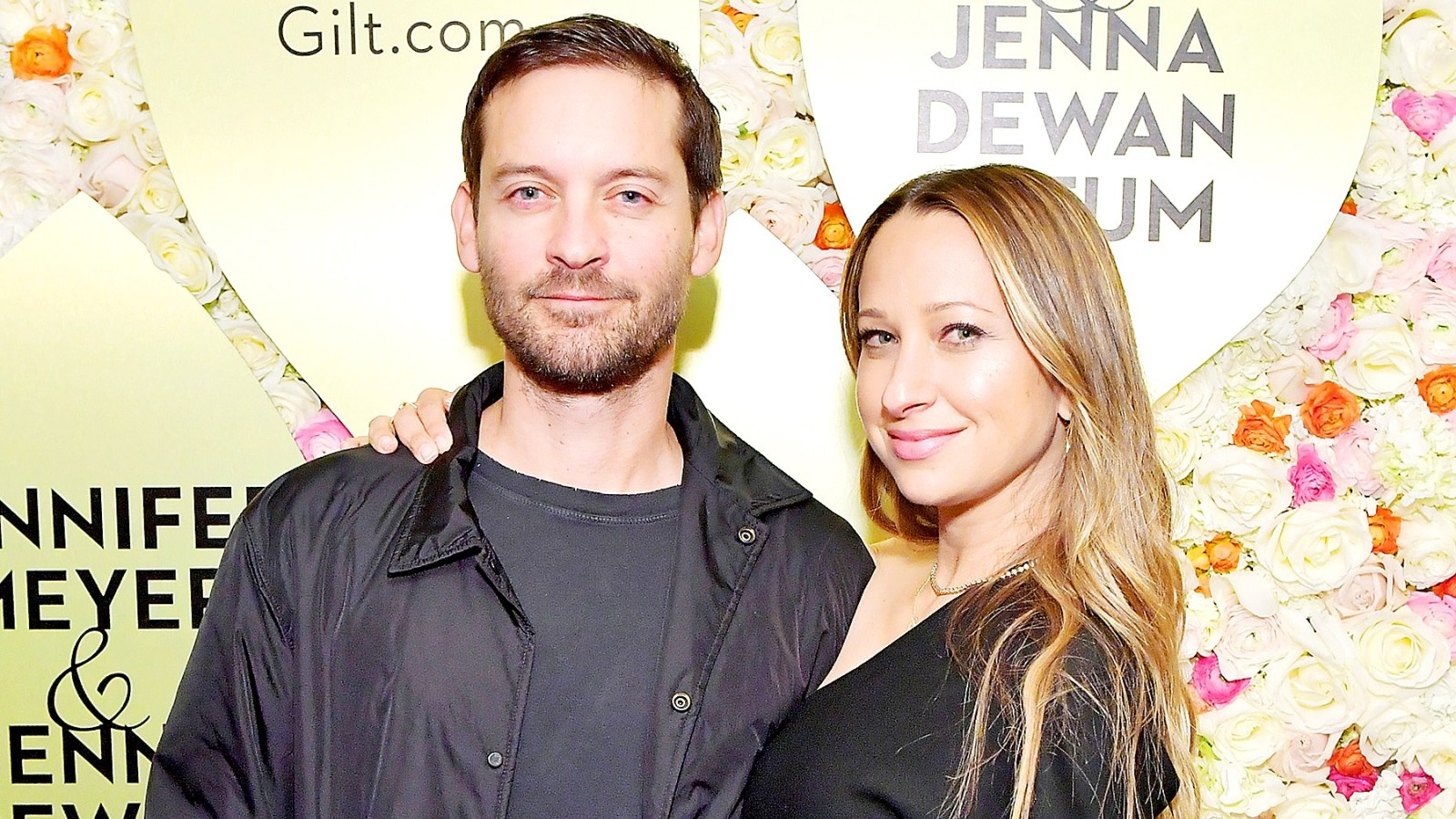 Jennifer Meyer with her ex-spouse Toby Maguire