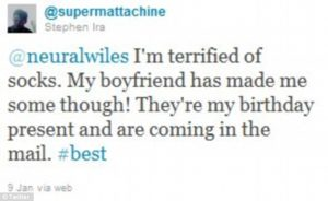 Kathlyn Beatty mentioned his boyfriend on the tweet.