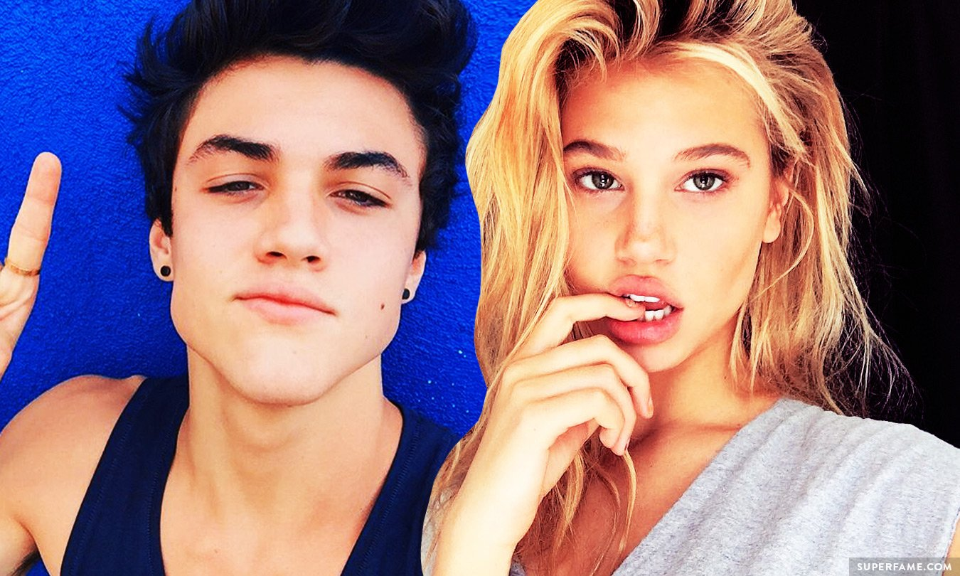 Meredith Mickelson was rumored to be in a relaitonship with Ethan Dolan