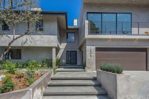 Sean McVay's home in Los Angeles, California.