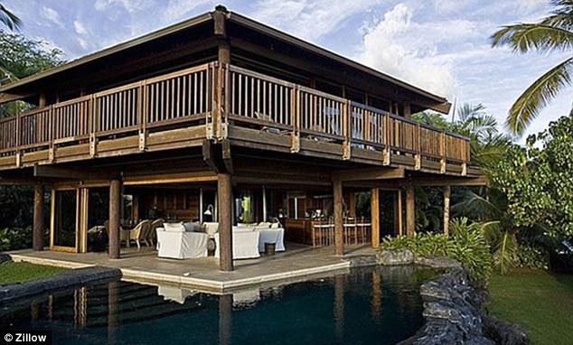 Aimee Preston's boyfriend Steven Tyler's beautiful residence