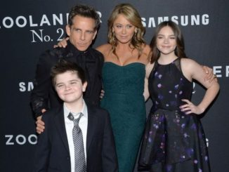 Quinn Dempsey Stiller is the son of Ben Stiller and Christine Taylor