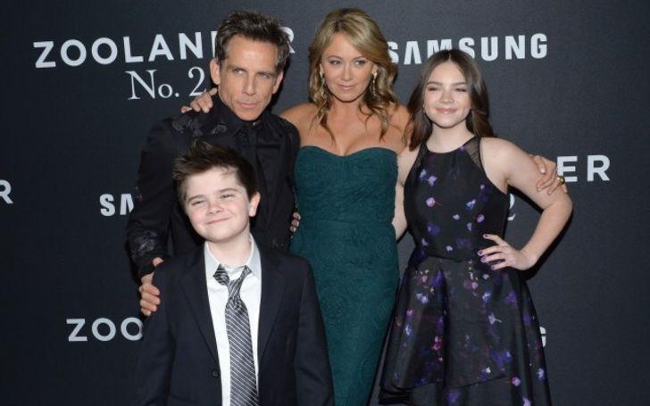 Quinn Dempsey Stiller is the son of Ben Stiller and Christine Taylor
