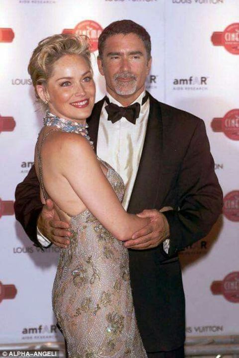 Before marrying Christine Borders, Bronstein shared his nuptials with the famous American actress and model,Sharon Stone.