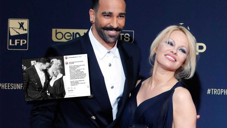 Football Defender Adil Rumi Fails to Defend Himself Against His Girlfriend, Pamela Anderson's Accusation of Cheating on Her