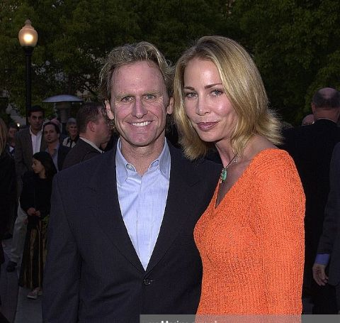 Kathleen Kinmont was the second wife of actor Jere Burns