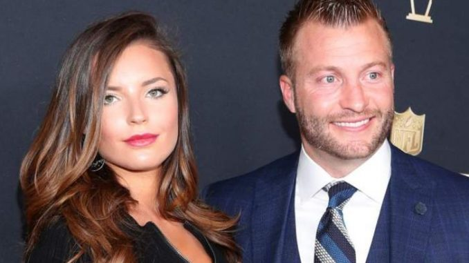 Veronika Khomyn recently got engaged to partner Sean McVay