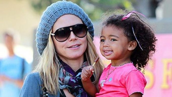Lou Samuel is the daughter of Heidi Klum and Seal.