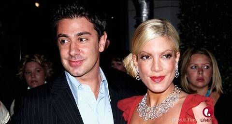 Charlie Shanian and Tori Spelling