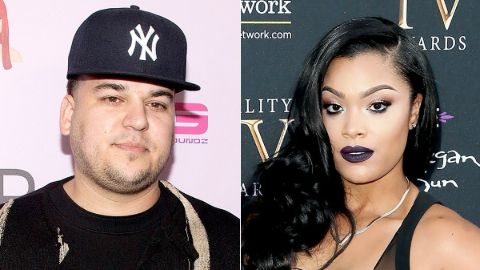 Mehgan James was in a relationship with her lover Rob Kardashian