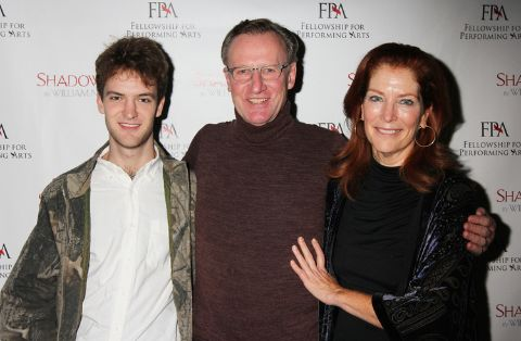Actress Patricia Kalember, Daniel Gerroll and their son Toby
